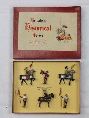 Britains Set #1258 Knights in Armor