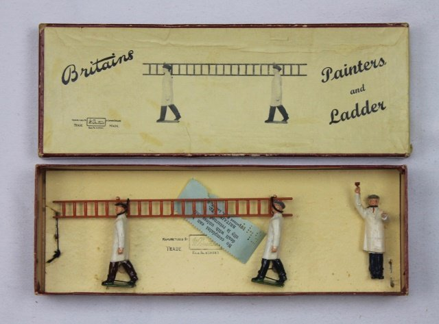 Britains Set #1495 Painters and Ladder