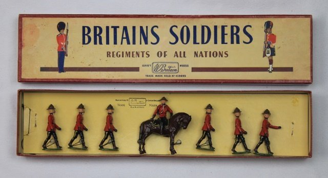 Britains Set #1554 Royal Canadian Mounted Police