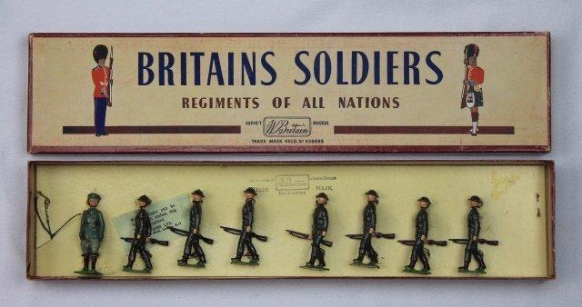 Britains Set #1603 Irish Free State Infantry
