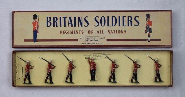 Britains Set #1633 Princess Patricia's Infantry