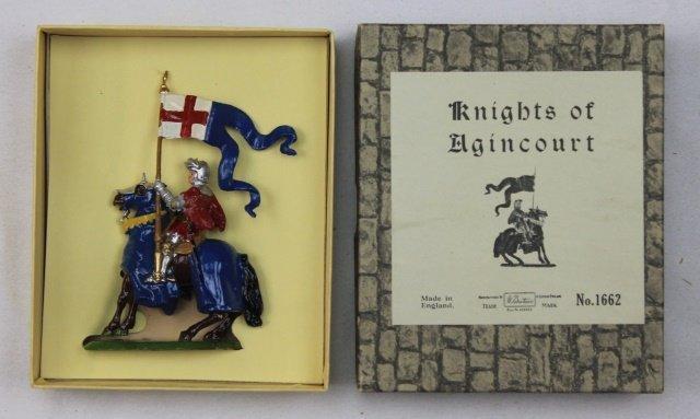 Britains Set #1662 Agincourt Knight with Banner