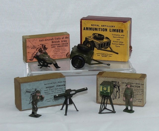 LOT Britains Limber and Operators with Equipment