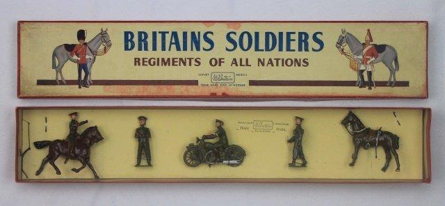 Britains Set #1907 Staff Officers