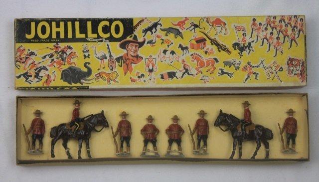 Johillco Set #163 Royal Canadian Mounted Police