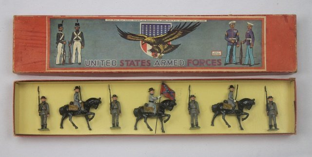 Johillco Set #197 Confederate Army