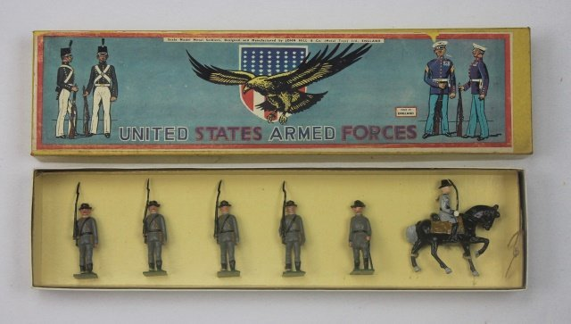 Johillco Set #C104 Confederate Army