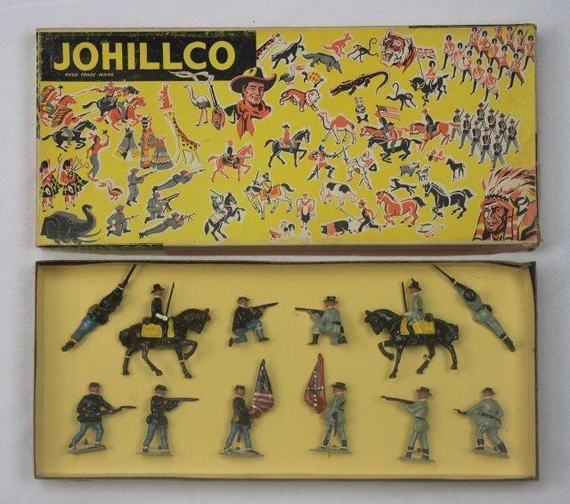Johillco Set #207 Union and Confederate Troops