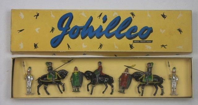 Johillco Set #166 Knights and Crusaders