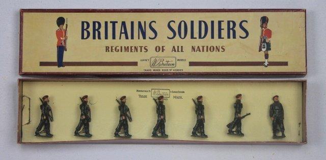Britains Set #2010 Airborne Infantry