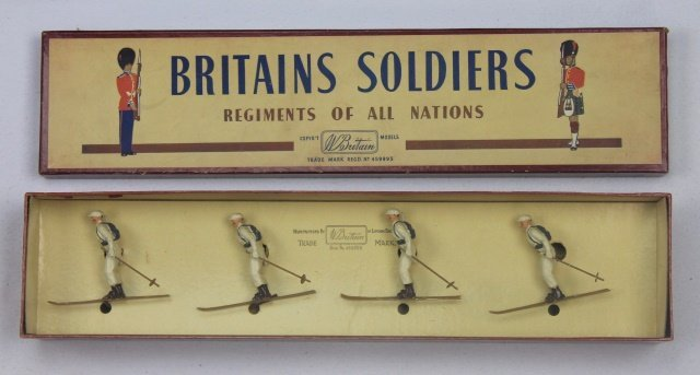Britains Set #2017 Ski Troops