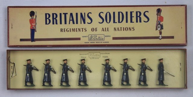 Britains Set #2027 Red Army Guards