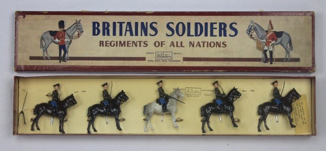 Britains Set #2028 Red Army Cavalry