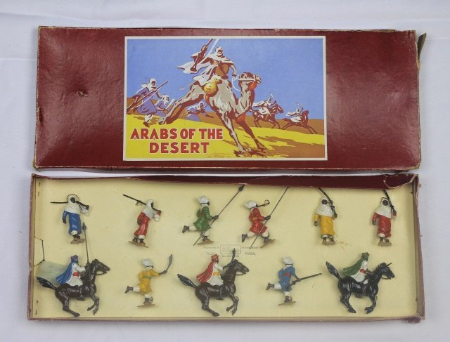 Britains Set #2046 Arabs of the Desert