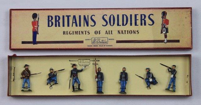 Britains Set #2060 Confederate Infantry