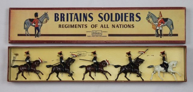Britains Set #2076 12th Royal Lancers