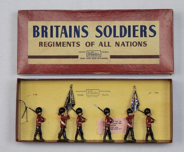 Britains Set #2084 Scots Guards Color Party