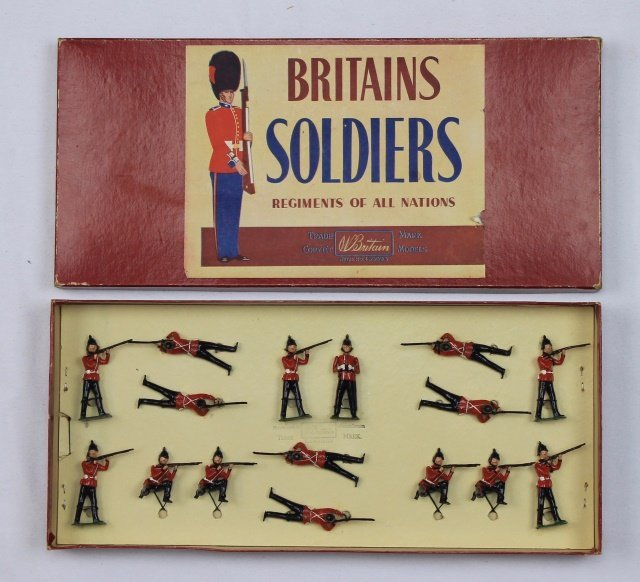 Britains Set #2086 West Surrey Regiment