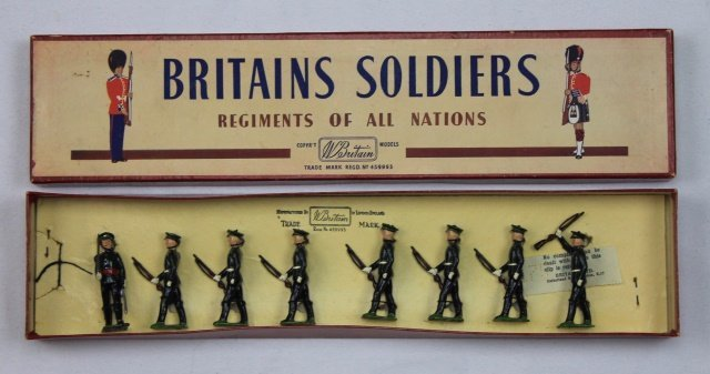 Britains Set #2088 Duke of Cornwall's Infantry