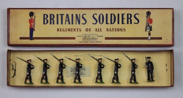 Britains Set #2089 Gloucestershire Regiment