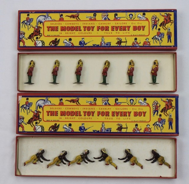 LOT B&T Two Sets of North American Indians
