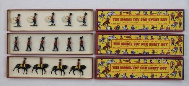LOT B&T Three Sets of British Troops