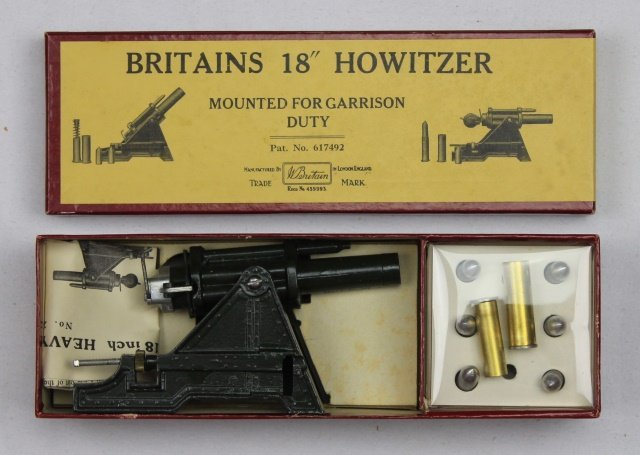 Britains Set #2106 Heavy Howitzer Garrison Use