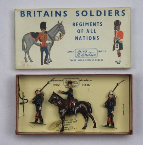 Britains Half Set #2136 French Foreign Legion