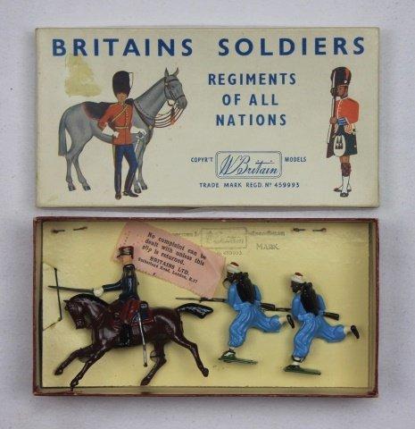Britains Half Set #2138 French Zouaves