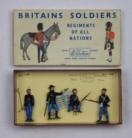 Britains Half Set #2142 Union Infantry