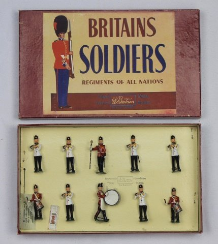 Britains Set #2178 Fort Henry Guard's Band
