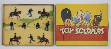 Britains Set 229s Union Infantry and Cavalry