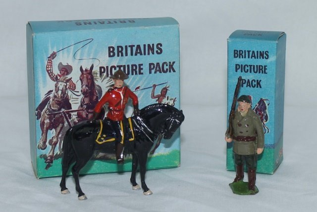 LOT Britains Picture Packs Royal Canadian Police
