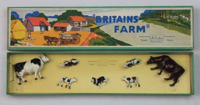 Britains Farm Set #125F Farmyard Display