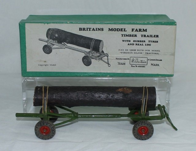 Britains Farm Set #129F Timber Trailer