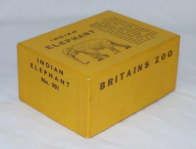 Britains Zoo Set #901 Indian Elephant