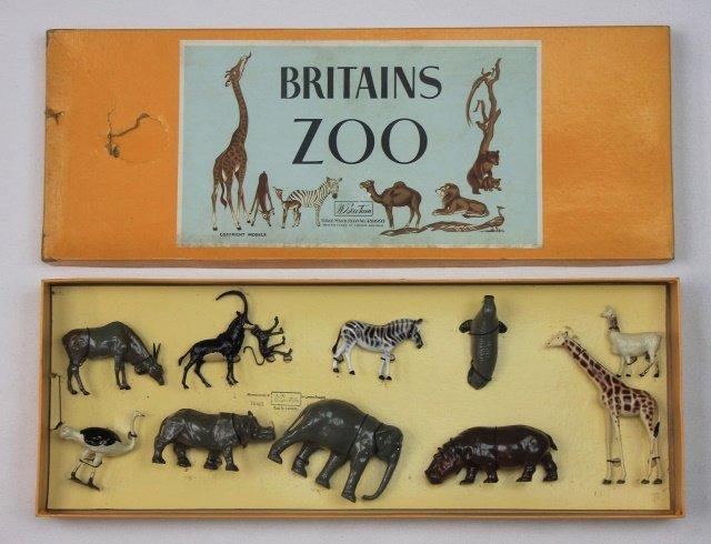 Britains Set #11Z Zoo Display