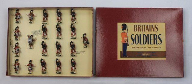 Britains Set #9435 Black Watch Band