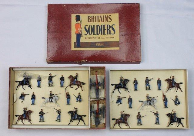 Britains Set #9485 Civil War Display