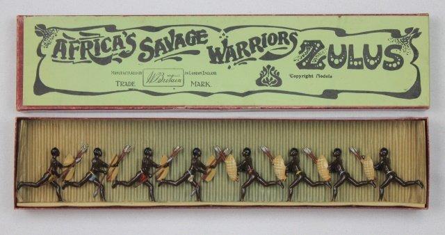 Britains Set #147 African Zulus