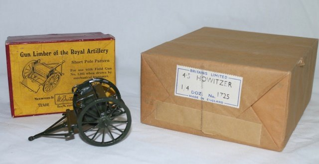 LOT Britains Factory Pack #1725 Guns