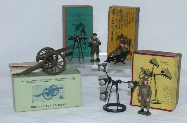 LOT Britains Artillery and Figure Sets