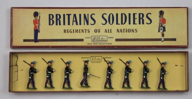 Britains Set #2051 Uruguayan Military Cadets