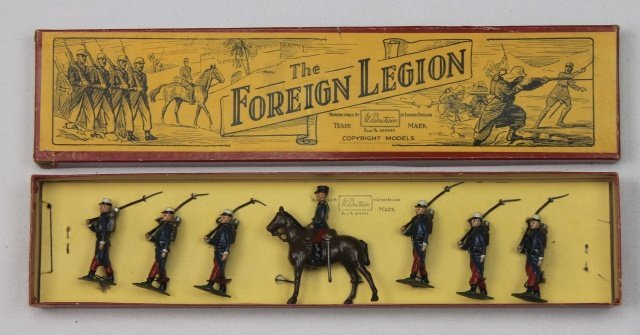 Britains Set #1711 French Foreign Legion