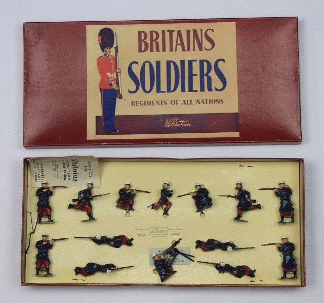 Britains Set #2095 Foreign Legion Display