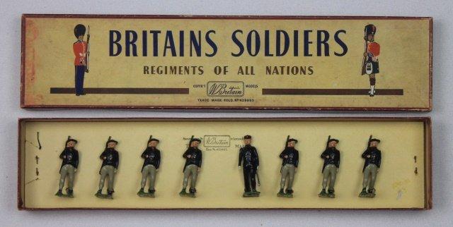 Britains Set #169 Italian Bersaglieri