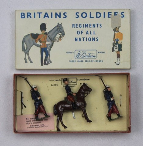 Britains Half Set #2136 Foreign Legion