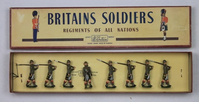 Britains Set #1901 Cape Town Highlanders