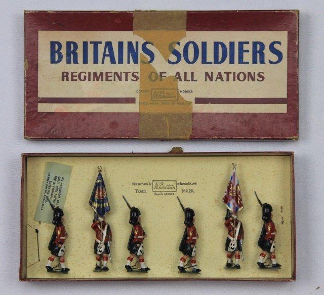 Britains Set #2111 Black Watch Color Party