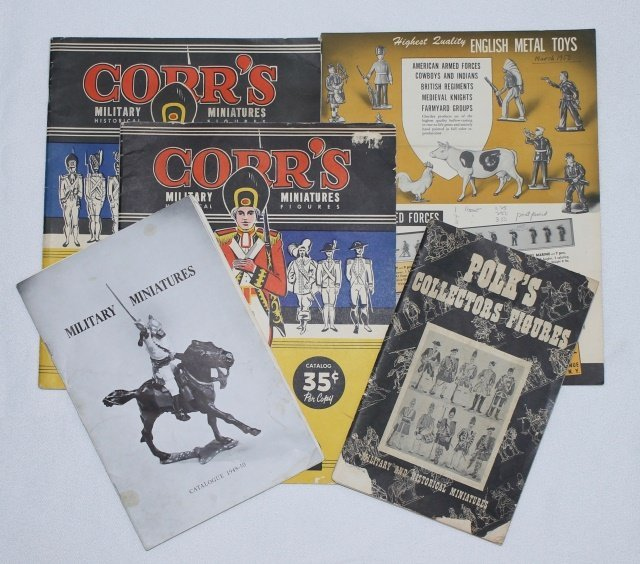 LOT Toy Soldier Catalogs